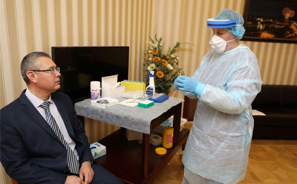 Правительство Чувашии протестировали на коронавирус