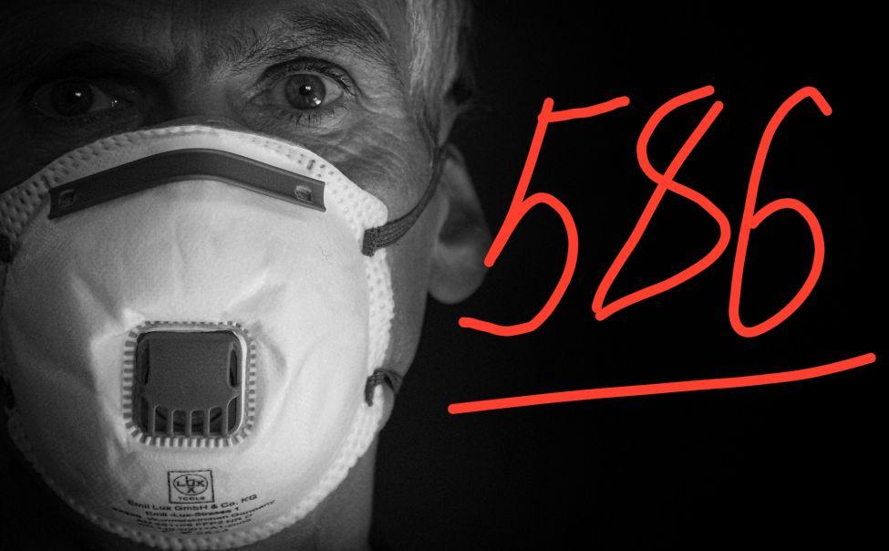 Общее число зараженных коронавирусом в Чувашии - 586 человек