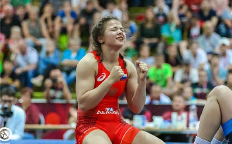 Уроженка Новочебоксарска стала чемпионкой России по женской вольной борьбе